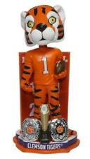 The Tiger Clemson Tigers 2-Time National Champions Bobblehead NCAA