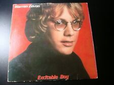 WARREN ZEVON EXCITABLE BOY LP RECORD