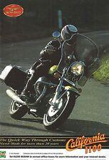 Moto Guzzi 1100 California - a Genuine 1995 'What Bike' Magazine Advertisement