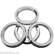 4 Anelli Centraggio Lega Di Alluminio 72,6-60,1 Motec, Oxigin, RC, Tomason