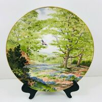 ROYAL DOULTON COLLECTORS PLATE AMONG THE BLUEBELLS 1984 ELIZABETH GRAY DESIGN