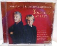 James Last & Richard Clayderman + CD + Together At Last + Album 13 Welthits /22