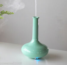 New Household Blue Air Humidifiers Vase Shape Ultrasonic Purifier Diffuser