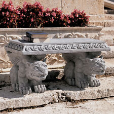 Medieval Gothic Castle Gargoyle Table Garden Bench replica reproduction
