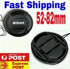 NEW NIKON Cap 52,58,62,67,72,77,82 mm Snap-on Replacement Lens Cap For Nikon