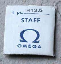 NOS vintage Omega watch balance staff Omega caliber R 13.5 ladies movement R13.5