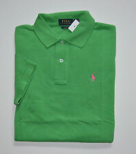 NWT Men's Ralph Lauren Short-Sleeve Polo Shirt, Green, Classic Fit, XL, X-Large