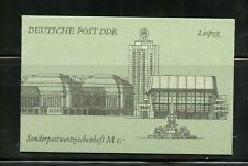 T491  Germany/GDR  1990   Post & Telecoms COMPLETE BOOKLET     MNH