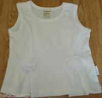 Jottum baby girl white Naud smart top BN 80 cm 9-12-18 m dutch designer summer