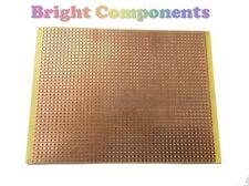 2x Stripboard (Vero Strip Prototyping Board) 95mm x 127mm - UK - 1st CLASS POST