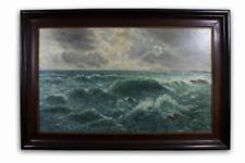 Künstlerische Malereien auf Leinwand im Impressionismus-Schiffe & Seefahrt-Motiv