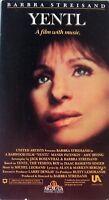 Yentl (VHS, 1989) Barbra Streisand # 027616031334
