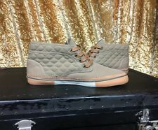 Beige South Shields Barbour Mans Lona Botín Zapatos Talla 7