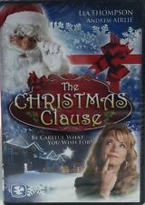The Christmas Claus  Lea Thompson Andrew Airlie DVD Brand New