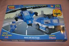 Best Lock Platinum Edition Town 211 Pieces Police Department Works w/ Name Brand