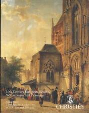 CHRISTIE'S 19TH CENTURY EUROPEAN ART PAINTINGS PEINTURE DU 19EME SIECLE