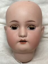 "5"" Antique Bisque German Head Simon & Halbig 530 Lashes Brown Sleep Eyes #Me"
