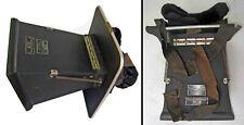 Rare c1900-1910 Patterson Xray Screen X-Ray Radiation Head Mount Viewing Hood