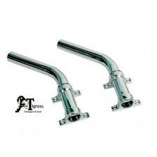 "Tigress Side Mount Outrigger Holders (Pair) Cast 316 S.S. 1-1/8"" I.D. 88505"
