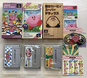 Kirby's Dream Land 3 Super Deluxe Kirby Bowl Nintendo Super Famicom SFC