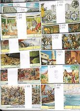 50 Liebig sets= 300 cards NO album, all complete, 1950ies,No Double