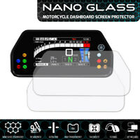 Yamaha R1 / R1M (2015+) NANO GLASS Dashboard Screen Protector x 2