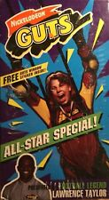 NEW RARE Nickelodeon Guts All Star Special VHS Video Tape With Lawrence Taylor