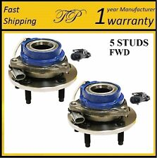 2006-2011 BUICK Lucerne (FWD, 4W ABS) Front Wheel Hub Bearing Assembly (PAIR)