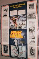 A1.Filmplakat ,GUADAL CANAL,DIE ENTSCHEIDUBG IM PAZIFIK,JOHN WAYNE
