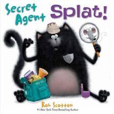 SPLAT THE CAT Secret Agent Splat! (Brand New Paperback Version) Rob Scotton