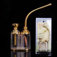 HOT Shisha Hookah Water Tobacco Smoking Pipe Bong Double Filter Cigarette Holder