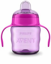 Philips Avent Easy Sip Spout Cup with Handle (200 ml, Pink) *Fast Delivery*