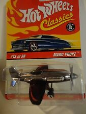 Hot Wheels Classics Series 2 #13 Red Wing Madd Propz Plane
