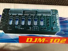 DJ-Mischpult DJM-102 Ibiza mit Effektsektion - im Bestzustand! -