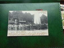 Vor 1914 Frankierte Normalformat Ansichtskarten aus Deutschland für Schiff & Seefahrt