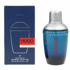 Hugo Boss Dark Blue 75ml Eau De Toilette EDT Spray For Men  - New In Sealed Box