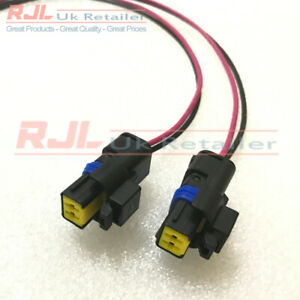 REAR REVERSE/FOG LIGHT BULB CONNECTORS fit RS Mk2 2008-2011 And MK2.5