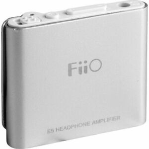 FiiO E05 E5 Ultra Portable Mini Headphone Amplifier (Black)