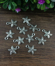 Wholesale 20pcs Tibet silver Starfish Charm Pendant beaded Jewelry Findings !! 1