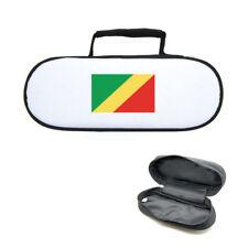 Sacoche housse pour boules de pétanque drapeau du congo