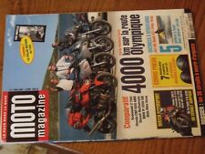 $$$ Revue Moto magazine N°209 Paris Athenes ParisHypersportPneusCircuits