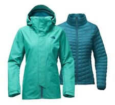 North Face Women's ALLIGARE TRICLIMATE GORE-TEX THERMOBALL Jacket Vistula Blue M