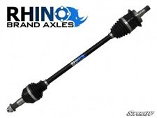 """SuperATV Rhino Brand Axle for Can-Am Maverick with +6"""" Lift Kit - FRONT LEFT"""