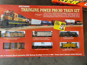 NOS Walthers BNSF Trainline Power Pro Train Set  931-37 New In The Box