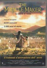 1 DVD FILM ANIMAZIONE-THE MIRACLE MAKER/LA STORIA DI GESù/THE JESUS STORY MOVIE