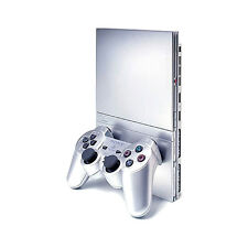 Sony PlayStation 2 Slim Satin Silver Console