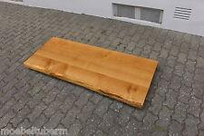Tischplatte Platte Eiche Massiv Holz Tisch Brett Leimholz 6cm Stark m. Baumkante