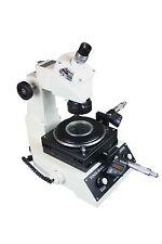 Toolmaker Measuring LED Microscope w 1um Micrometer  Digital Cross Line Eyepiece