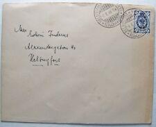 1899 alter Brief Finnland Helsingfors 7 Kopeken EF Helsingfort Helsinki Ortsbrie