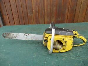 """Vintage McCULLOCH  Chainsaw Chain Saw with 15"""" Bar"""